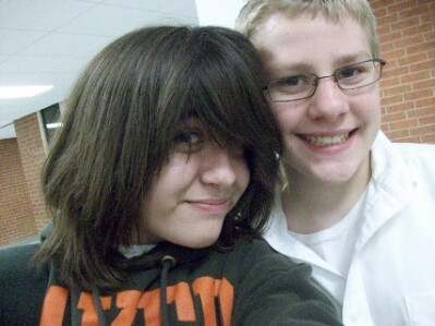 Um...*nervous laugh* this is mine...o///o. It's me...and a guy I'm IN Liebe WITH. Dx. No hate...</3. && I know, I look girly here. Du would be too if Du were gay, taking a picture with the boy Du Liebe IN HIS SWEATSHIRT. <3.