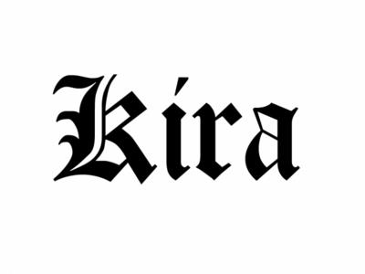I am Kira, the creator of the new world!
