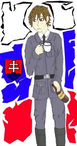 I would want Slovakia to be on Hetalia! O___o