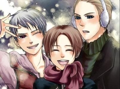 I like GerIta, but I like Germancest too, so Germany gets fought over kwa Prussia and Italy. :'(