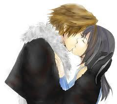 Squall and Rinoa (I don't care if they aren't from an anime, FF8 counts in my opinion XD)
