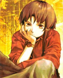 Cute little Lain from Serial Experiments Lain :3
