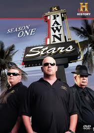 Pawn Stars. At first I thought: meh, just another boring History Channel show... But after I started watching it I got hooked. It's really amazing what people bring into a pawn shop.