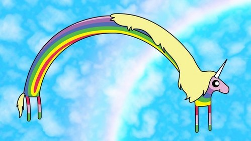 LADY RAINICORN!!!!! haha lol no. I have no idea - - actually