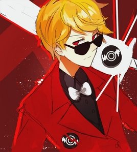 Dave Strider. Because woohoo fictional people. Also because he's my 最喜爱的 fictional person. [i]And the best homestuck character imo[/i] <3 :3 I can relate to him [i]so much[/i] it's uncanny. I am Dave. Dave is me(Seriously). xD