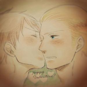 Hehe...both blushing!!!