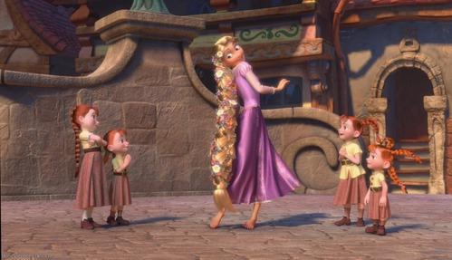How Do They Make Rapunzel S Hair So Short Disney Princess Answers Fanpop
