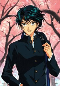 ryoma echizen ^_^ hehe he is so cool