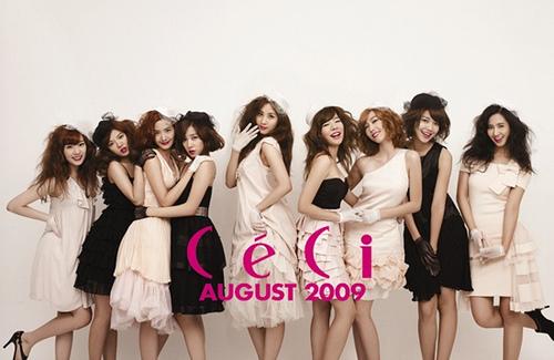 4 me: 1.yuri 2.tiffany 3.sunny 4.jessica 5.hyoyeon 6.taeyeon 7.sooyoung 8.yoona 9.seohyun