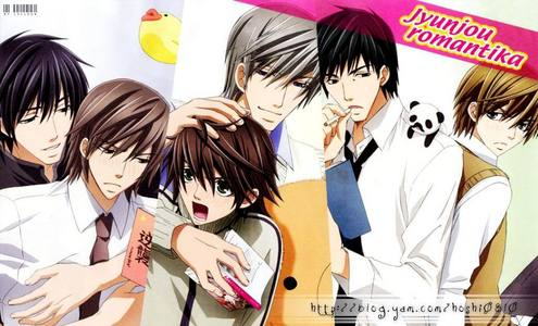 Junjou Romantica.. Like, legitly.. xD <3
