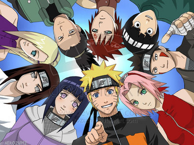 naruto was the series that got me interested in other anime :)