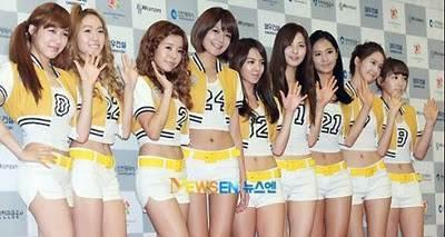 1 yuri 2 hyoyeon 3 taeyeon 4 sunny 5 sooyoung 6 jessica 7 tiffany 8 yoona 9 seohyun