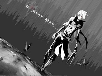 D.gray man <3 cause it dah bomb :P