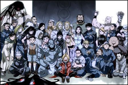 Fullmetal alchemist brotherhood :)