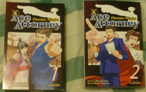 Would the Ace Attorney manga count?