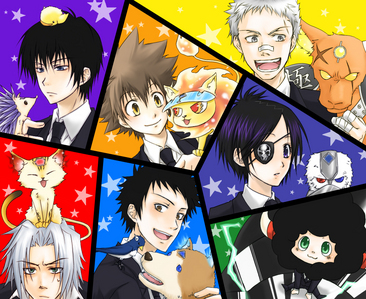 Katekyo Hitman Reborn and other things XD