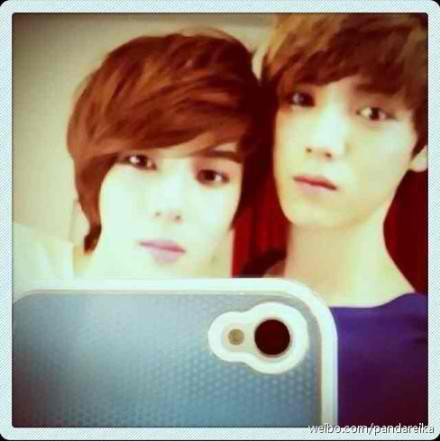 I Liebe HUNHAN COUPLE:D their are real^^ but i like sehun Mehr <3
