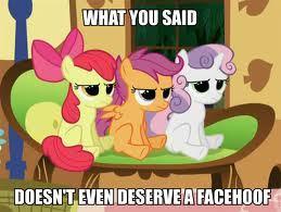 Another stupid pony...