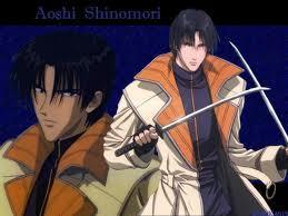 Aoshi Shinomori from Rurouni Kenshin