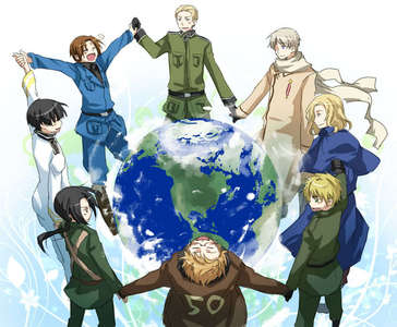hetalia of course :D