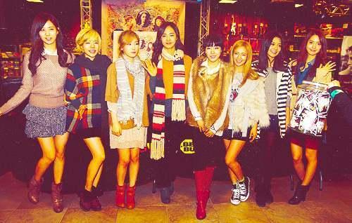 1.Yuri :D 2.Hyoyeon :D 3.Taeyeon :D 4.Sunny :D 5.Sooyoung :D 6.Jessica :D 7.Tiffany :D 8.Yoona :D 9.Seohyun :D