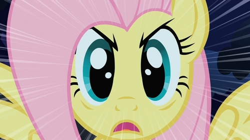 "If you do, you'll get the Fluttershy ""Death Glare""!"