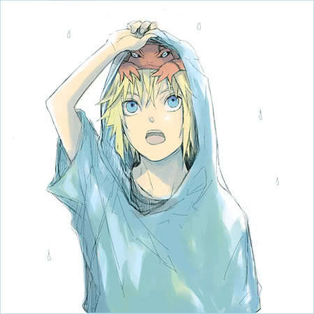 Here are the ones that come to mind: naruto Uzumaki (Naruto) Izuru Kira (Bleach) Ino Yamanaka (Naruto) Deidara (Naruto) Vash (Trigun) Minato (Naruto) Germany (Hetalia) France (Hetalia) America (Hetalia) ^-^