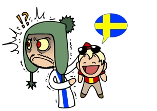 Finland does.