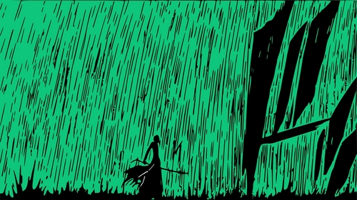 Green rain! I swear, this release still gets me every time I see it. It's just amazing.