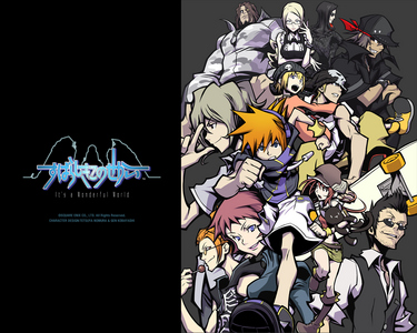 The World Ends With آپ This game is a fucking masterpiece! (IMO) A hidden jewel in the لائبریری of Nintendo DS games.