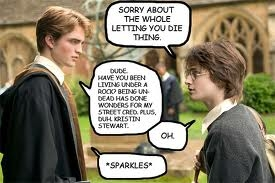 Dont! Every person that joins and says something or sends a picture/video or a comment/question there will be a fight so dont do it! lol i tryed to do a picture of harry and cedric fighting but this is all i could get :)