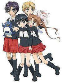 Alice academy :) natsume and mikan are my fav