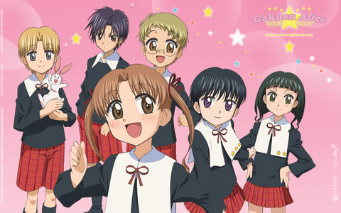 School Rumble Air Tokyo Mew Mew Fruits Basket OHSHC Special A Alice Academy Save me lollipop Ponyo