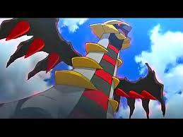 Actually it showed in the pokemon movie. Girantina and the Sky Wariorrs. BUt anyways, Girantina.