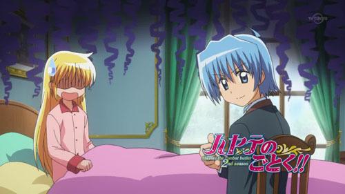 Hayate Ayasaki and Nagi Sanzenin from Hayate the Combat Butler.