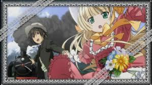 victorique and kujo from gosick :3