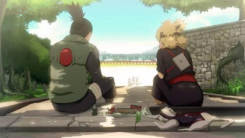 shikamaru and Temari (Naruto). Even if they're from an extremely populer manga, they're always overshadowed oleh SasuSaku/SasuNaru/NaruHina/NejiTen.