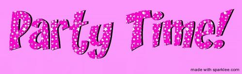 HAVE A PAR-TAY!! DANCE-DANCE!! 或者 Hot Tub...my place ;)