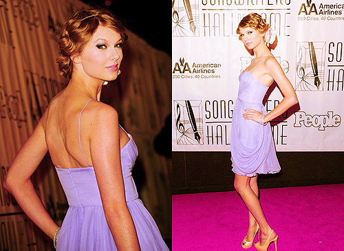Here's mine...pretty in purple:) http://www.celebritydesktopwallpapers.com/wp-content/uploads/2010/11/Taylor-Swift-012-1600x1200.jpg http://cdn.loopycomments.com/wp-content/uploads/2011/06/Taylor-Swift-in-Philadelpia-Style-Summer-2011-Edition.jpg