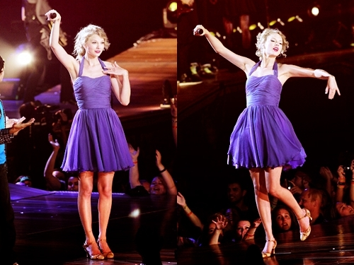 Purple dress :)