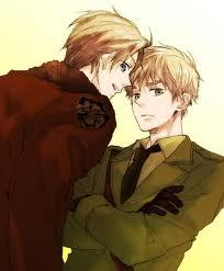 """""""Am I Catholic atau Protestant...? God, I don't know..."""" -Britain (after having a little too much to drink), Hetalia: Axis Powers """"You don't know me! I'm the United bloody Kingdom and I can held my locker better then anda any day!"""" (Britain) """"Dude, calm down!"""" (America) """"Shut up! I felt bad about how old frog-face was treating anda so I saved your ass. I thought maybe we could be friends and bond over our mutual hatred for France. But uh-uh. anda didn't want to be friends with me! anda just wanted to tell me what to tell anda what to do, and anda didn't know what to do anyway! I think that's total bollocks!"""" (Britain) -America and Britain (who's drunk and ranting), Hetalia: Axis Powers """"Why won't the light just shut up...? I swear I'll never drink again... someone please kill me..."""" -Britain (he was hung-over), Hetalia: Axis Powers hetalia kutipan between America and Britain"""