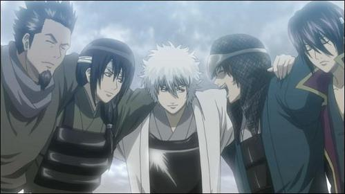 """All my favorit quote are from gintama """"The country? The skies? anda can have them. I'm busy just protecting what's right in front of me. I don't know what'll happen to me in the future, but if something has fallen at my feet, then the least I can do is pick it up."""" - Gintoki Sakata """"If anda have time to think of a beautiful ending, then why not use the time to live beautifully until the end"""" - Gintoki Sakata I have loads lebih but I can't remember how they went"""