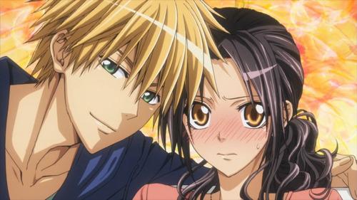 Misaki and Usui <3