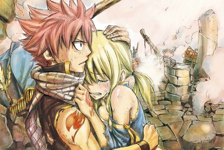 Natsu and Lucy from Fairy Tail ♥
