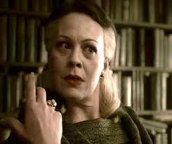 I think she just went along with whatever Lucius was doing(Same with Draco).She didn't seem to दिखाना her own opinion around Lucius but i don't think she really wanted to be around the Death Eaters. She didn't want to be a part of it and she didn't want to see a child die(Harry). The thing she really cared about if Draco is alive या not and when she found out he was she decided to let Harry live aswell(that's how i soe it) या she just didn't want to bother as long as her son is okay. @BedIntruder-Mrs Weasley? I don't think Narcissa is as loving as her,she did प्यार her husband and son but their family shows 'love' in a 'colder',different way.