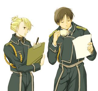 Roy & Hawkeye <3