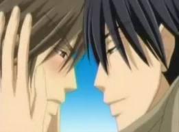 Nowaki x Hiroki from Junjou Romantica