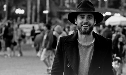 The most beautiful smile....Jared Leto