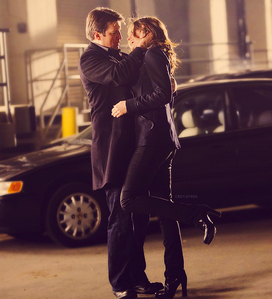 Buffy/Spike and Doctor/Rose will always be my favorites, but my favoriete couple currently on tv is Richard kasteel and Kate Beckett from Castle.