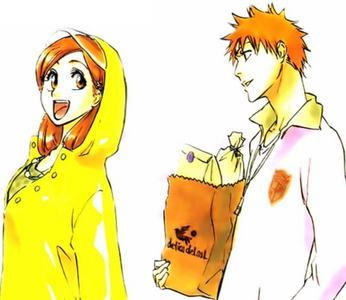 Ichigo and Orihime <3